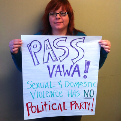 Pass VAWA 2012 | by The Leadership Conference on Civil and Human Right