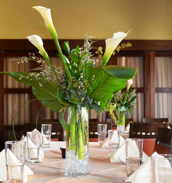 Calla lily centerpiece flickr photo sharing