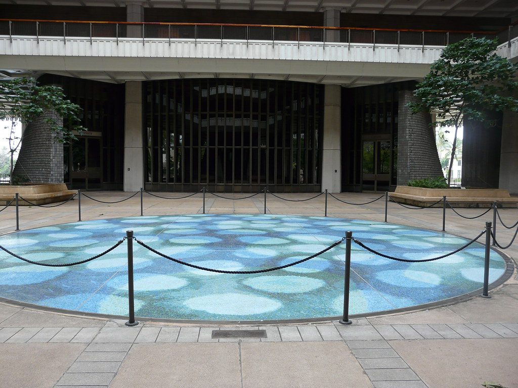 Capitol floor tiles | Honolulu, Hawaii, USA | jb10okie | Flickr