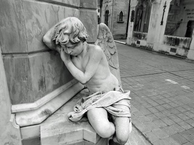 Detalle del cementerio de la Recoleta (Buenos Aires)