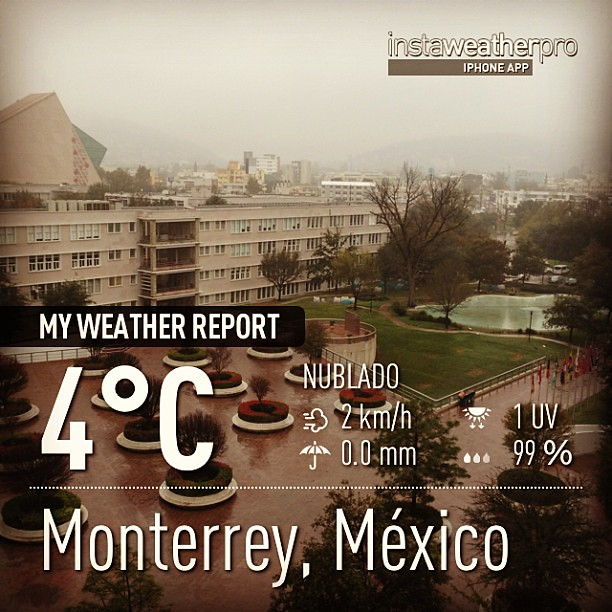 Temperatura actual en monterrey 4c afortunadamente el ti - Temperatura actual ferrol ...