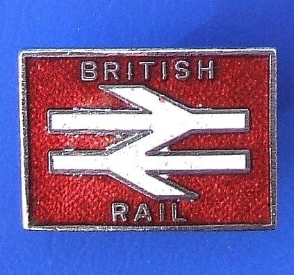 British Rail Unidentified Lapel Badge 1980 S 1990 S