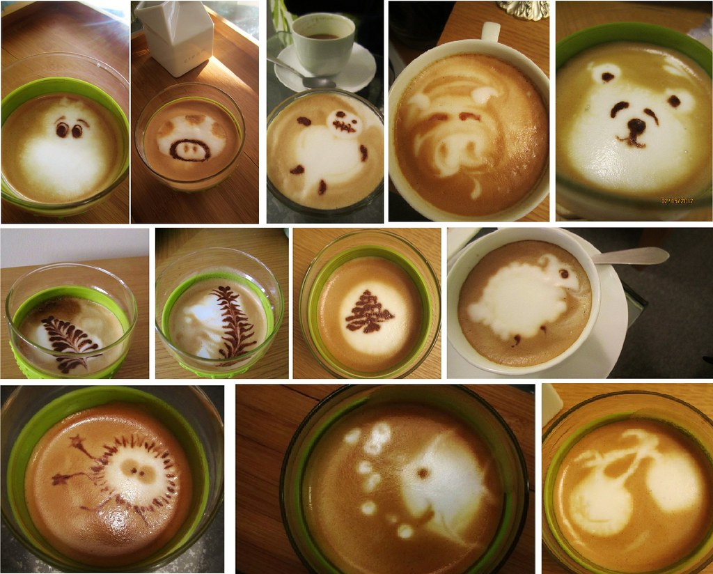 how to make latte art without a machine