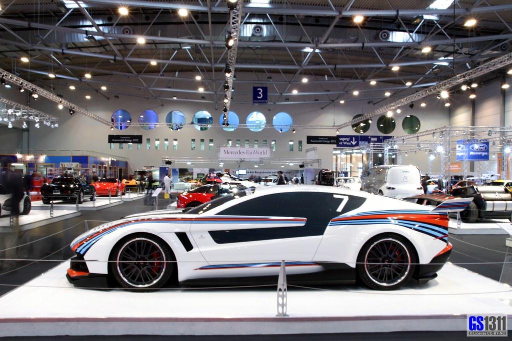 2012 Italdesign Giugiaro Brivido Martini Racing Gt Flickr