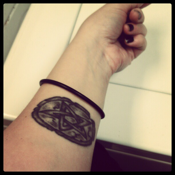 Pentagram Tattoo Star Pagan Wicca Witchcraft Flickr