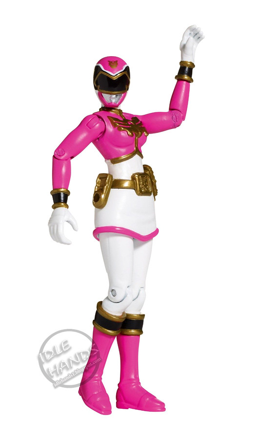 bandai power rangers megaforce pink ranger 4 inch action f