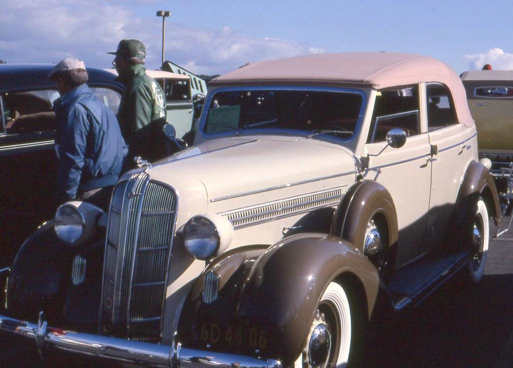 1936 dodge d 2 4 door convertible sedan richard for 1936 dodge 4 door sedan