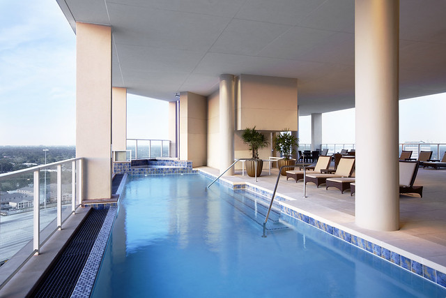 The Westin Houston Memorial City Infinity Edge Pool