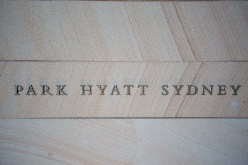Review: Park Hyatt, Sydney