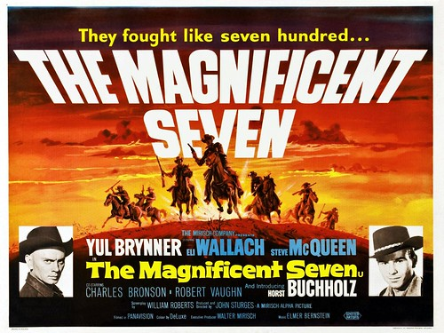The Magnificent Seven - 1960 - Poster 8