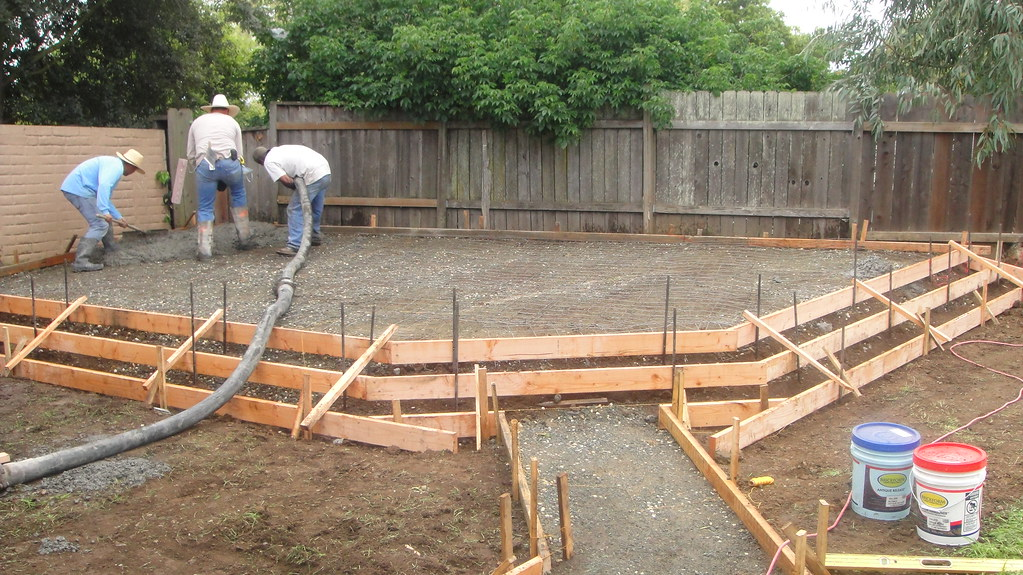 ... Vallejo Raise Patio Concrete Forms...All Access 510 701 4400 |