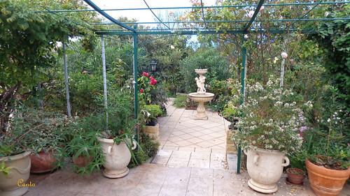 Mon jardin automne 2012 fontaine aux angelots 2 flickr for Mon jardin 3d
