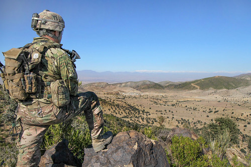 Watching for activity | by The U.S. Army