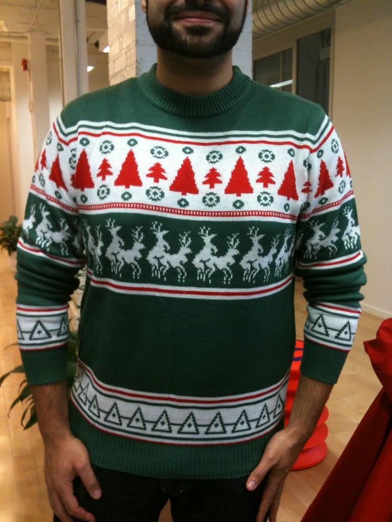 by bartek ciszkowski john salamas dirty christmas sweater by bartek ciszkowski - Dirty Christmas Sweater