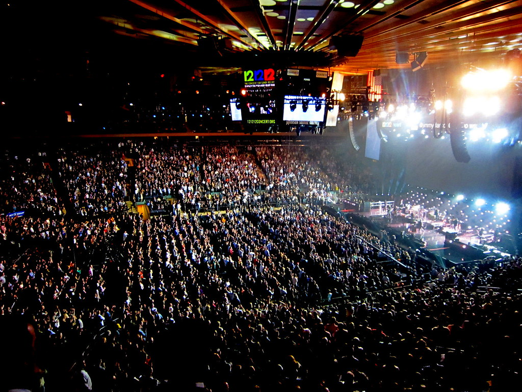 Concert for Hurricane Sandy Victims Madison Square Garde Flickr
