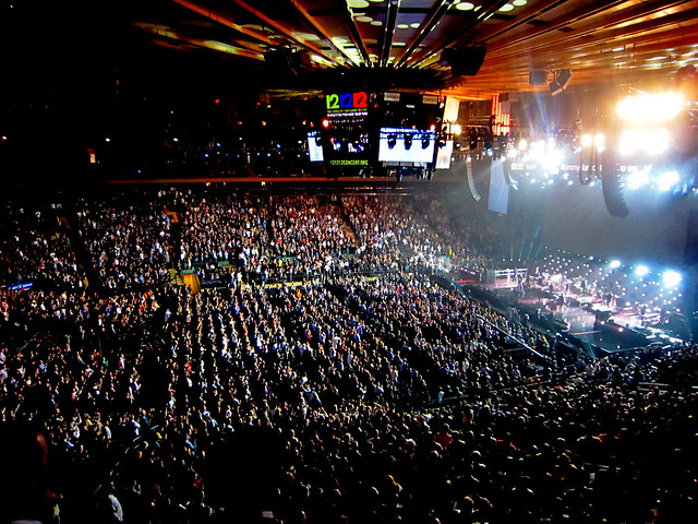 Concert For Hurricane Sandy Victims Madison Square Garden 12 12 12 Flickr Photo Sharing