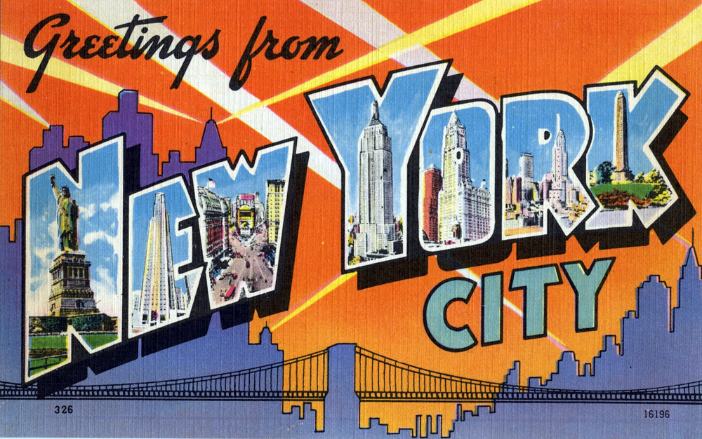 Greetings from new york city large letter postcard flickr greetings from new york city large letter postcard by shook photos m4hsunfo