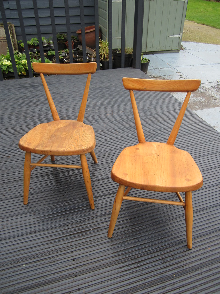 Ercol Childrens Stacking Chairs I Have Ended Up With A Fai