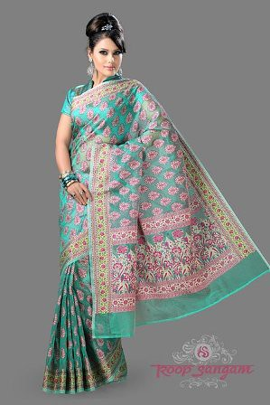 beautiful traditional silk sarees by roop sangam a
