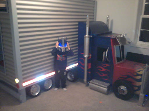 Optimus Prime Transformer bed - (Dave Schaeffer) | Almost
