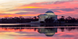 Jefferson Memorial Sunrise | by Andrew Rhodes Photography
