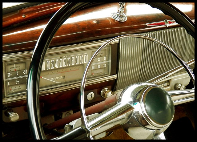 1939 oldsmobile 98 dash