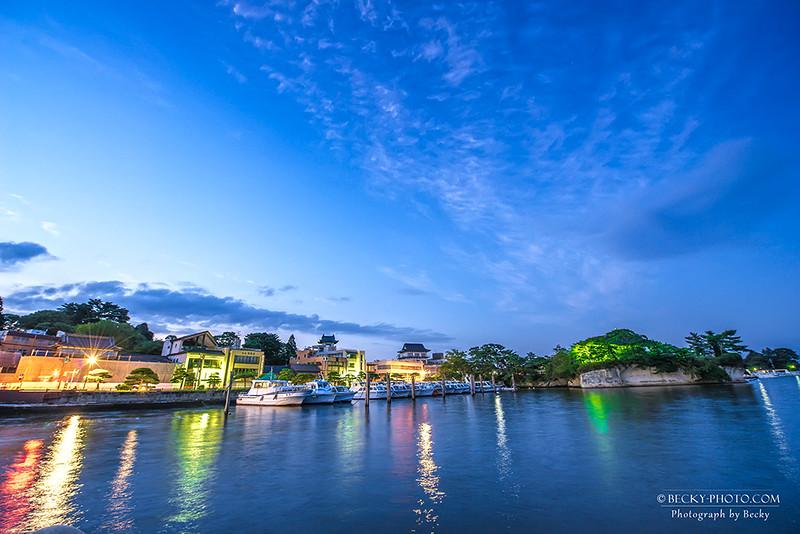 2016.Aug 松島夜景 @日本東北旅行
