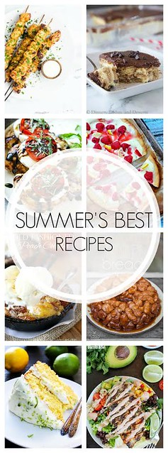 Summers Best Recipes collage.