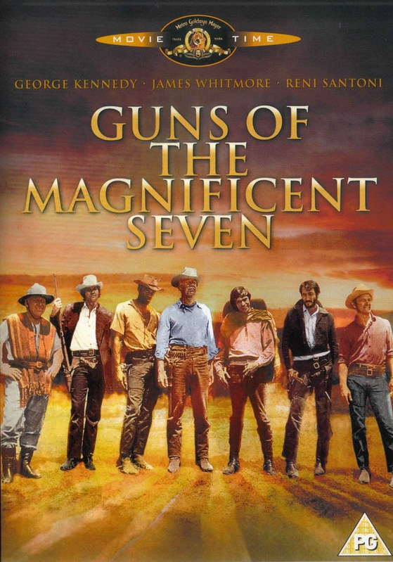 Guns of the Magnificent Seven - Poster 8