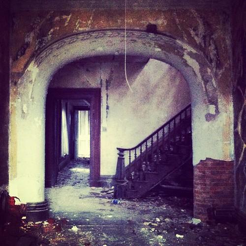 William Tarr House. Bourbon County. Kentucky. Abandoned An