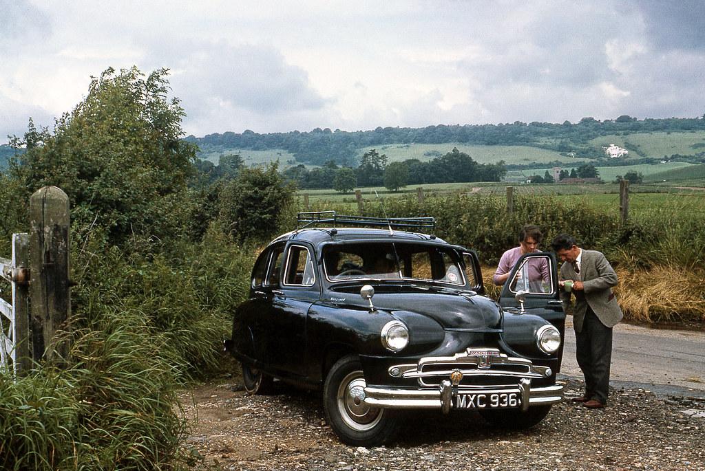 1952 Standard Vanguard in Kent. 1964 | My first six cars plu… | Flickr