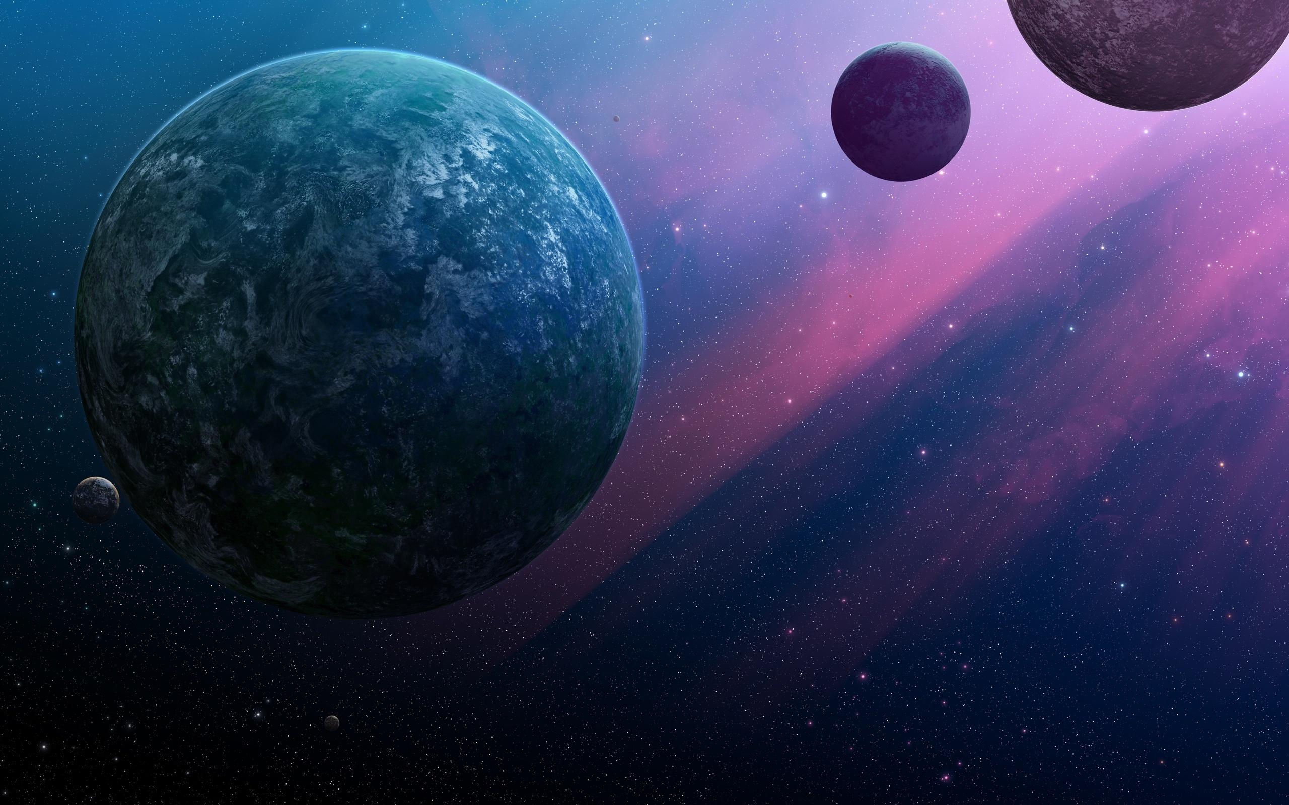 Обои Темная планета картинки на рабочий стол на тему Космос - скачать  № 1763119  скачать