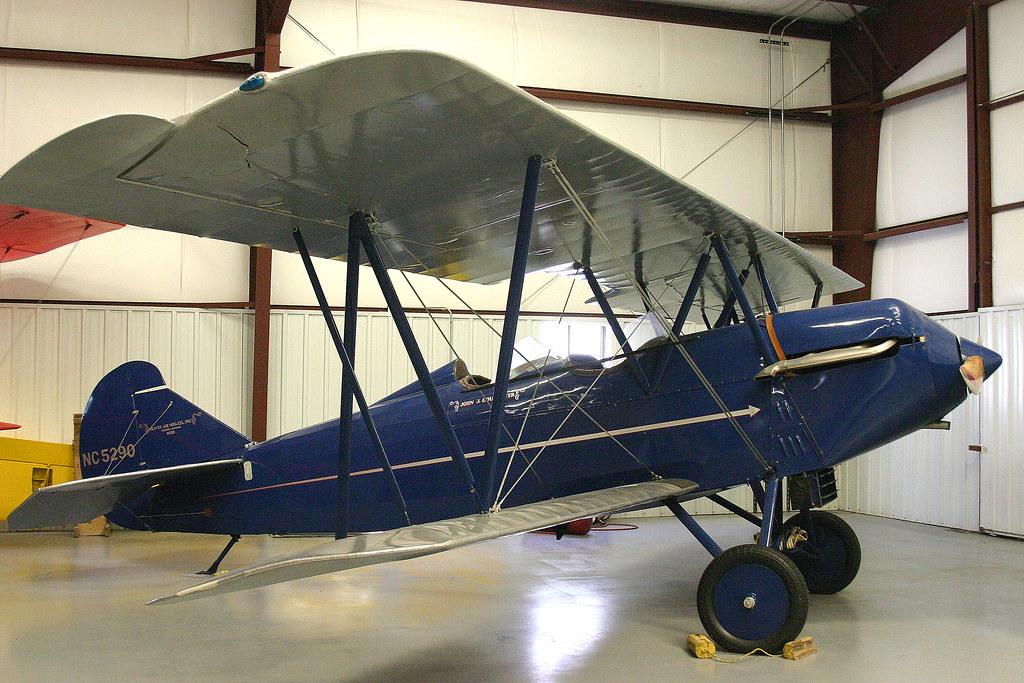 Curtiss-Wright Travel Air 2000 NC5290 Historic Aircraft Re ...