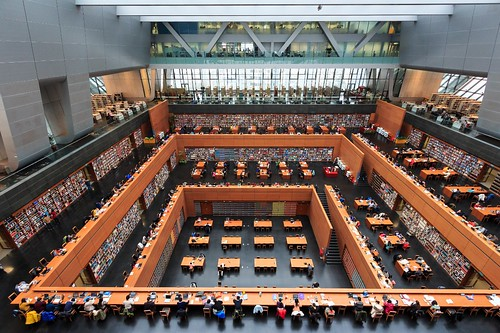 National Library of China, Beijing | by Maria_Globetrotter