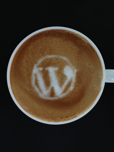 Today's latte, WordPress. | by yukop