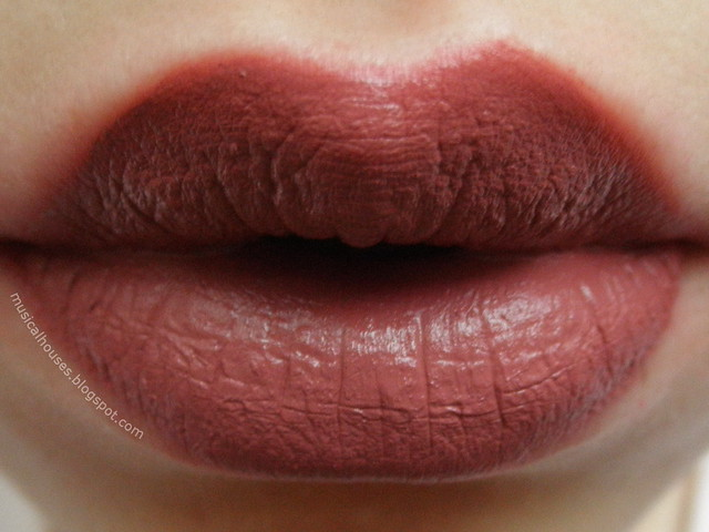 Palladio Velvet Matte Lip Cream Color Raw Silk Review