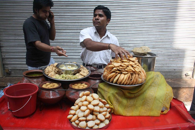 City Food – Papdi Chaat, Around Town