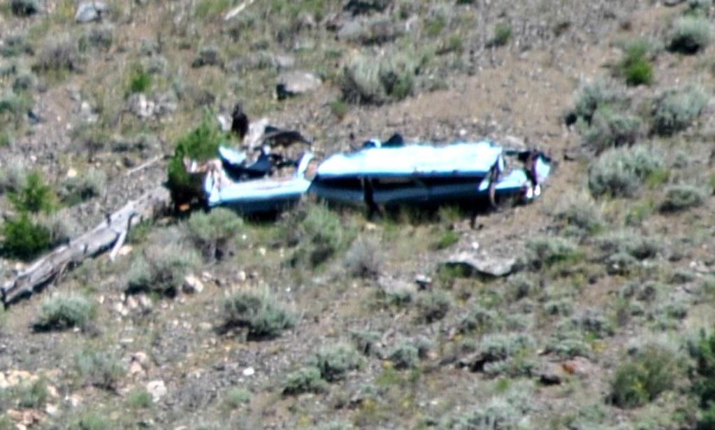 California Zephyr Car Wreck Gore Canyon Colorado 2