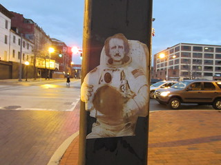 Poe Astronaut on Howard St. | by Zombie37