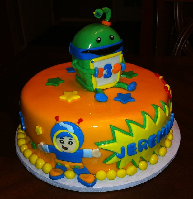 Team Umizoomi Toy Cake Toppers