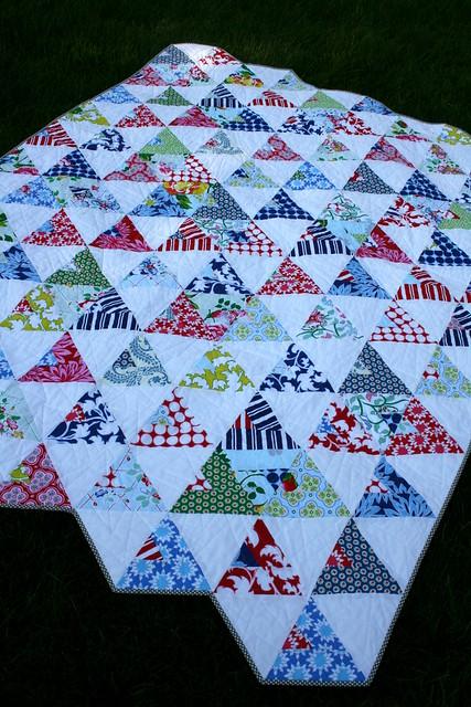 Confederate Flag Quilt Pattern Garden View Landscape