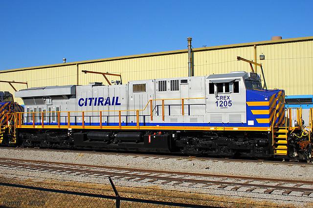 Crex 1205 Ge Es44ac At Kansas City Mo Flickr Photo Sharing
