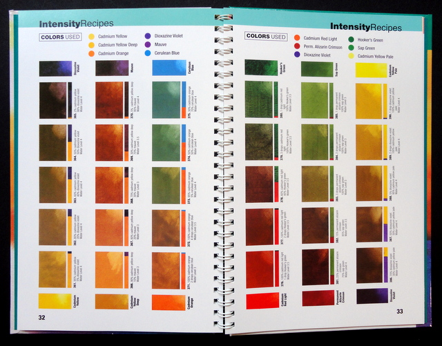 Book Cover Watercolor Mixing : Book color mixing recipes for watercolor inside all