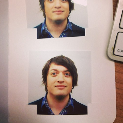 a  work by the cvs passport photo guy giving me a fake jaw u2026