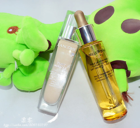 Moisturizing makeup makes a good recovery-Guerlain makeup gold honey