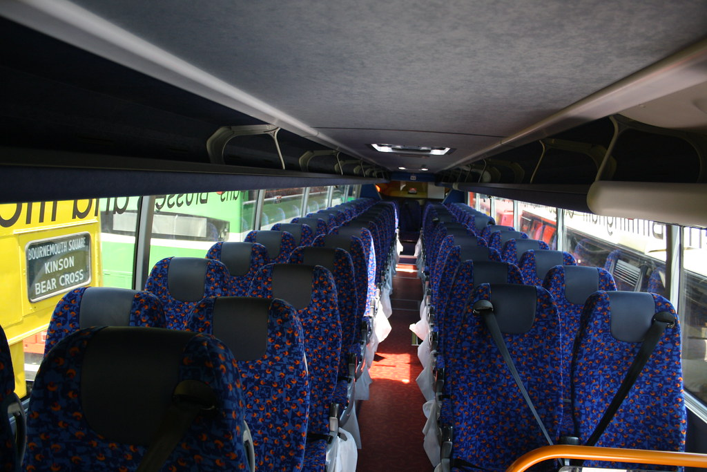 Megabus 54270 Interior Interior Of Megabus Stagecoach