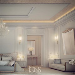 Master Bedroom Design O Private Palace Qatar Doha Dubai