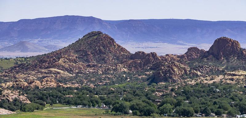 Mingus Mountain Behind Granite Dells