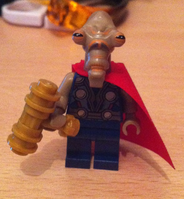 lego beta ray bill - photo #1