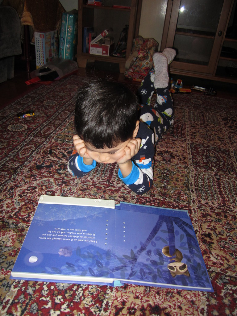 Hezekiah loves this book - the story is recorded by Grampa